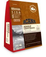 Acana Dog Adult Large Breed 18kg + Perrito Chicken Jerky Chips pro psa 100g