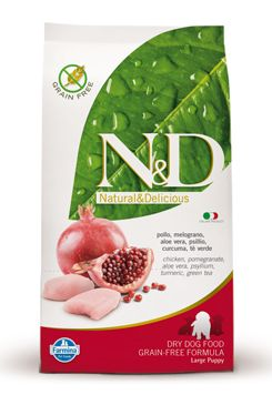 N&D Grain Free DOG Puppy Large Chicken & Pomegr 12kg